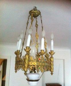 A vendre lustre du XVIII siècle