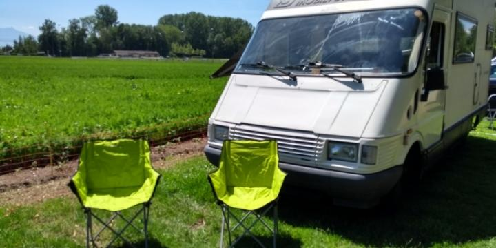 Location Camping-Car 4-5 couchages pour CHF 79.--/jour