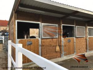 Außenboxen, Pferdeställe, Pferdeboxen, Weidehütte