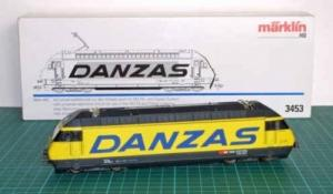 Märklin 3453, Re 460 Danzas digital