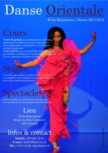 Cours danse orientale à Crissier