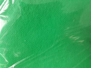 Fond vert en tissu neuf