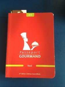 Passeport Gourmand Vaud 2019 / Expire le 01.03.2020