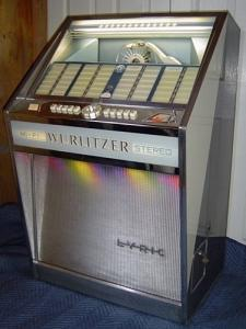 jukebox Wurlitzer 1962 impeccable