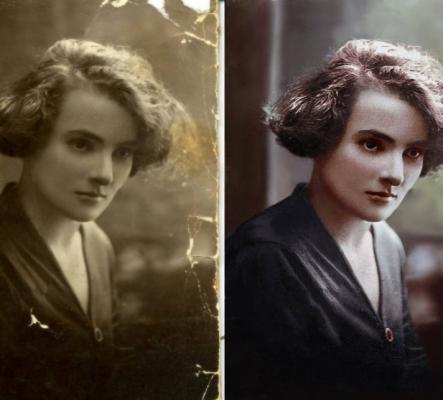 Restauration de vielles photographies