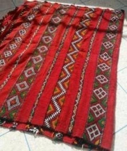 une encien tapis berber marocain