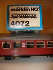 Märklin HO 4072 B 1 SJ, 2.Klasse
