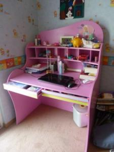 chambre fillette Pfister rose
