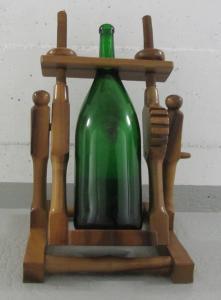 Porte bouteille basculant pour Mathusalem