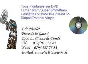 Tous Montage sur DVD