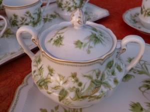 Service à thé porcelaine huit personnes