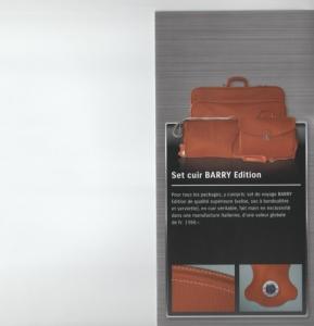 Set cuir Barry Edition de 3 pièces