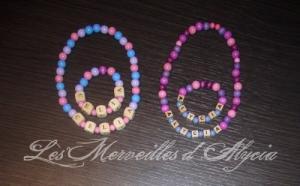 Collier / bracelet personnalisé en bois