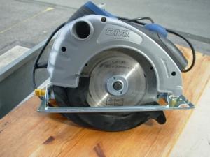 Scie circulaire CMI diam 185mm et 1400W