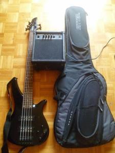 Basse Yamaha TRBX noir 5 cordes