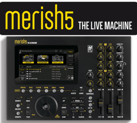 MERISH 5 de M-Live Workstation Mp3, Mp4, Midifiles & Textes
