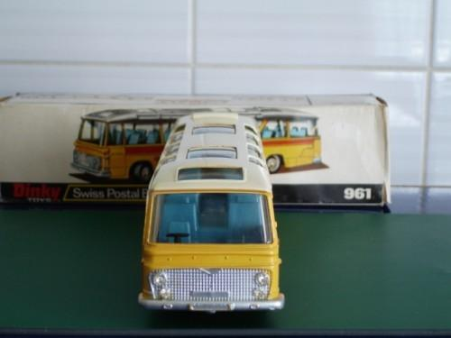 Dinky Toys Vega Major PTT Swiss Postal