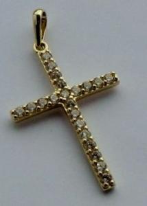 petite croix en or