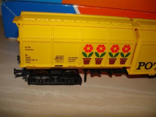 Roco HO wagon NS compost VAM Potgrond ref 5669 140-3