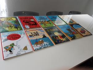 BD les Aventures de Tintin
