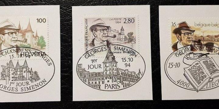 3 Timbres de Georges Simenon -15.10.1994