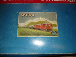 Coffret Wesa, fabrication Suisse, écartement 13mm en CC