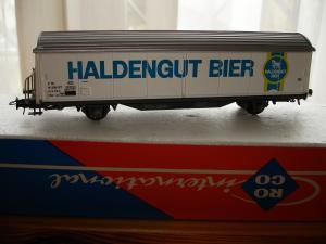 Roco HO 4340D wagon Hbis-vxy Haldengut Bier SBB CFF