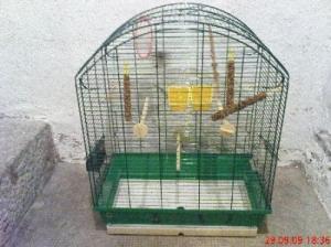 Vend grande cage pour oiseaux