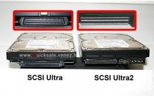 Deux disques dur SCSI, Ultra et Ultra 2.