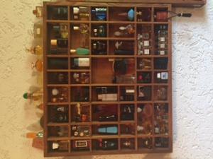 Collections de plus de 100 minis parfums