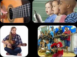 Cours de guitare et chant - Psalmodia NE