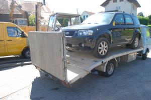 VW LT 35 TD transport de véhicules