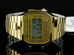 Casio Gold Illuminator - A168WG-9