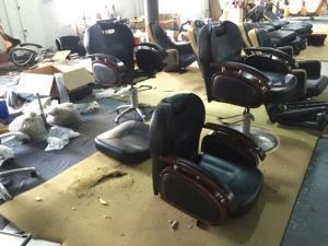 Le mobilier de salon de coiffure
