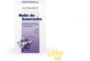 Alpinamed Huile Bourrache 500 capsules