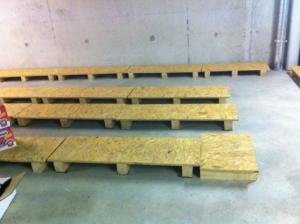 supports en bois