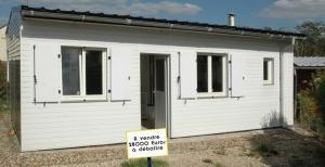 Bungalow 51m² sur camping 3 étoiles dans l'Oise (France)