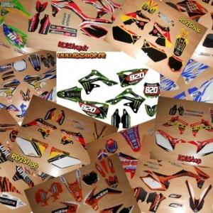 Tous Kit Déco /  Perso Motocross Enduro