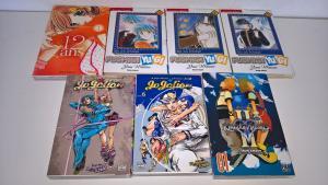 A vendre divers Mangas