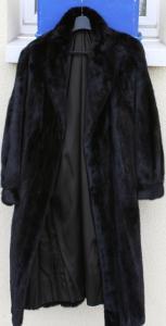 Manteau en vison véritable