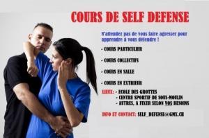 Cours de self-defense ( H ou/et F)