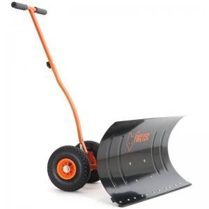 FUXTEC pelle à neige avec des roues Schneeschieber