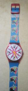 VINTAGE Swatch MAXI coq de 1991