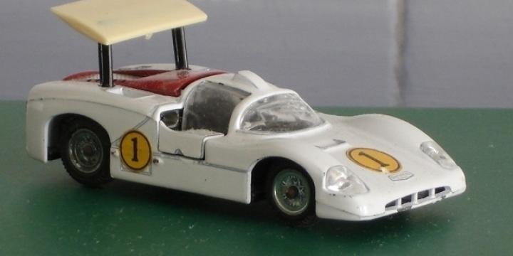Mebetoys Chaparral A-23 1:43 Vintage Diecast Race Car