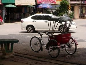 Les vélos triporteurs Thaïlandais