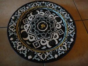 magnifique assiette céramique arabe