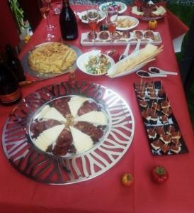 La tortilla et la charcuterie espagnols