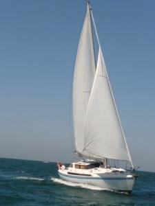 Croisière sur un voilier de 11 métres