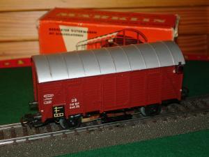Marklin HO 4506 wagons marchandises GMH 39 DB