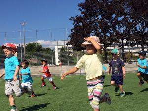 Camps de football pour enfants en Vaud cet automne